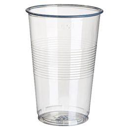 STARPAK Kunststoff-Trinkbecher PP, 0,4 l, transparent, 50er