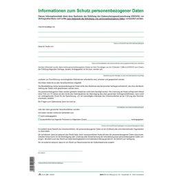 RNK Verlag Informationsblatt DSGVO: Informationen zum