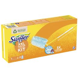 Swiffer Staubmagnet XXL Starter-Set, 1 Teleskopstab +