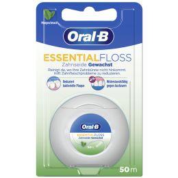 Oral-B Zahnseide Essentialfloss, 50 m, Minzgeschmack