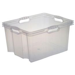keeeper Aufbewahrungsbox franz, 24 Liter, natur