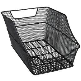 FISCHER Fahrrad-Korb BIG für den Gepäckträger, schwarz