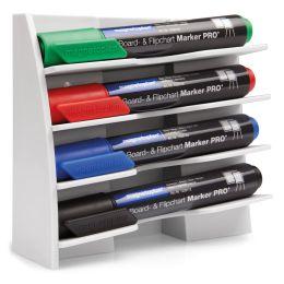 magnetoplan Kunststoff Markerhalter, für 4 Boardmarker