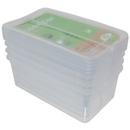 keeeper Aufbewahrungsboxen-Set bea, 4x 5,6 Liter, PP