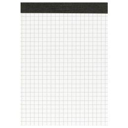 LANDRÉ Notizblock ohne Deckblatt, DIN A6, 50 Blatt, kariert