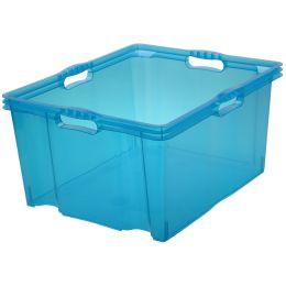 keeeper Aufbewahrungsbox franz, 44 Liter, blau