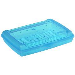 keeeper Brotdose luca, Click-Box Mini, blau-transparent