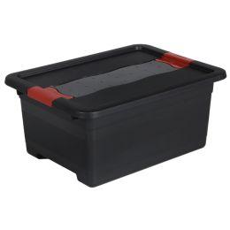 keeeper Aufbewahrungsbox eckhart, 12 Liter, graphite/rot