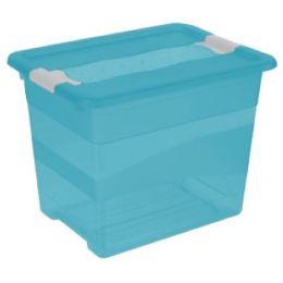 keeeper Aufbewahrungsbox cornelia, 24 Liter, fresh-blue