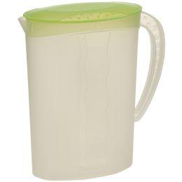 ok Saftkanne mit Deckel, 2,0 Liter, PP, fresh-green