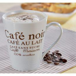 caterado by Esmeyer Kaffeebecher Fakt, weiß mit Aufdruck
