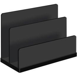 WEDO Briefständer black office, schwarz