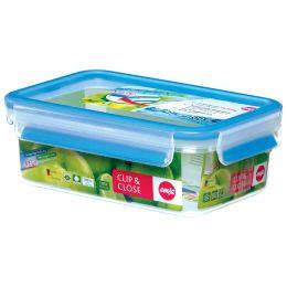 emsa Frischhaltedose CLIP & CLOSE, 1,0 Liter, transparent