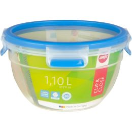 emsa Frischhaltedose CLIP & CLOSE, 0,50 Liter, transparent