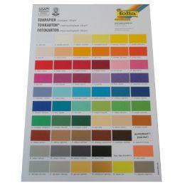 folia Farbübersicht/Farbkarte, DIN A4