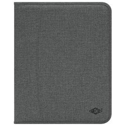 WEDO Schreibmappe COLLEGE, A4, Polyester, grau