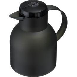 emsa Isolierkanne SAMBA, 1,0 Liter, transluzent-schwarz