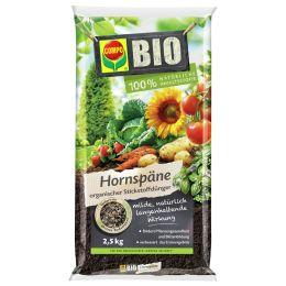 COMPO BIO Naturdünger Hornspäne, 2,5 kg Beutel