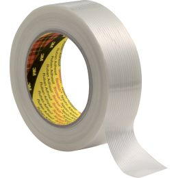 Scotch Filamentklebeband 8956, transparent, 50 mm x 50 m