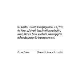 COLOP Textstempel Classic 2600, 8-zeilig, mit Gutschein