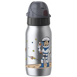 emsa KIDS Isolier-Trinkflasche ISO 2 GO, 0,35 L, Astronaut