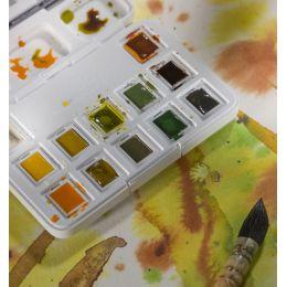 ROYAL TALENS Aquarellfarbe Van Gogh, 12er Box, Naturfarben