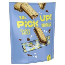 LEIBNIZ Keksriegel PiCK UP! Choco & Milch minis, Beutel