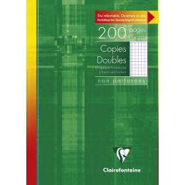 Clairefontaine Etui copies doubles A4, quadrillé 5x5