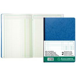 EXACOMPTA Spaltenbuch DIN A4, 10 Spalten auf 2 Seiten