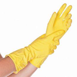 HYGOSTAR Latex-Universal-Handschuh BETTINA, L, gelb
