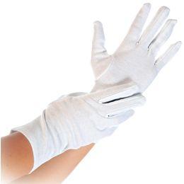 HYGOSTAR Baumwoll-Handschuh BLANC, weiß, M