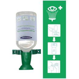 HYGOSTAR Augenspül-Station, inkl. 500 ml Augenspülung