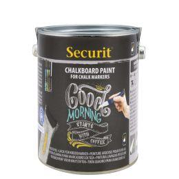 Securit Tafellack PAINT, schwarz, 2,5 Liter