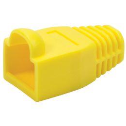 LogiLink Knickschutztülle für RJ45 Steckverbinder, gelb