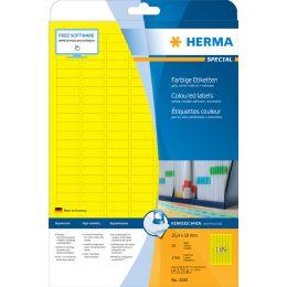 HERMA Universal-Etiketten SPECIAL, 210 x 297 mm, blau