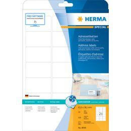 HERMA Inkjet-Etiketten SPECIAL, 63,5 x 38,1 mm, weiß