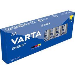 VARTA Alkaline Batterie ENERGY, Mignon (AA/LR6)