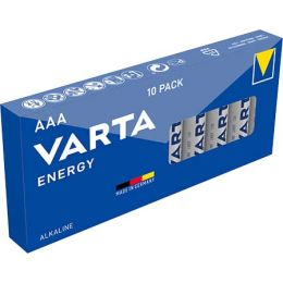VARTA Alkaline Batterie ENERGY, Micro (AAA/LR3)