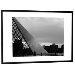 PAPERFLOW Alu-Bilderrahmen, (B)400 x (H)500 mm, schwarz