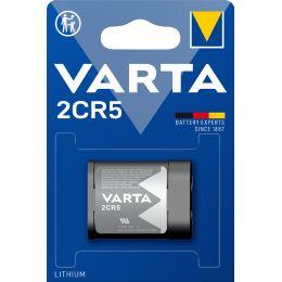 VARTA Foto-Batterie LITHIUM, 2CR5, 6,0 Volt