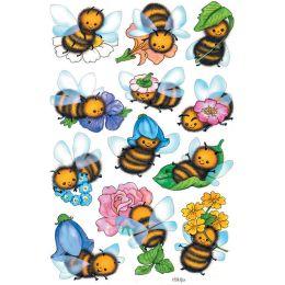 HERMA Sticker DECOR Lustige Bienen