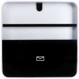 PAPERFLOW Wandkasten multiBox Document Holder, schwarz