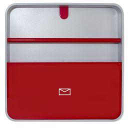 PAPERFLOW Wandkasten multiBox Document Holder, rot