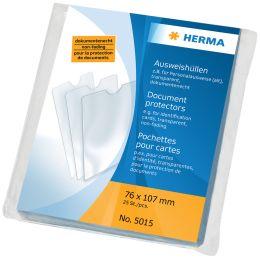 HERMA Ausweishülle, PP, 1-fach, 0,14 mm, Format: 110 x 155mm