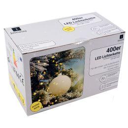 Jamasia LED-Lichterkette, grün, 400 Lichter, IP 44