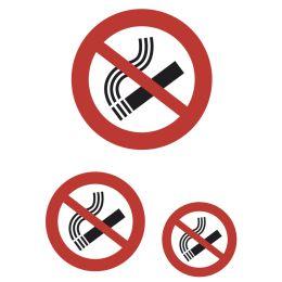 HERMA Hinweisetiketten Nicht rauchen, Folie, wetterfest
