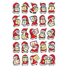 HERMA Weihnachts-Sticker DECOR Adventskalender, Papier