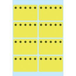 HERMA Tiefkühletiketten, 26 x 40 mm, leuchtgelb