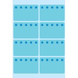 HERMA Tiefkühletiketten, 26 x 40 mm, blau, selbstklebend