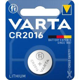 VARTA Lithium Knopfzelle Professional Electronics, CR2016